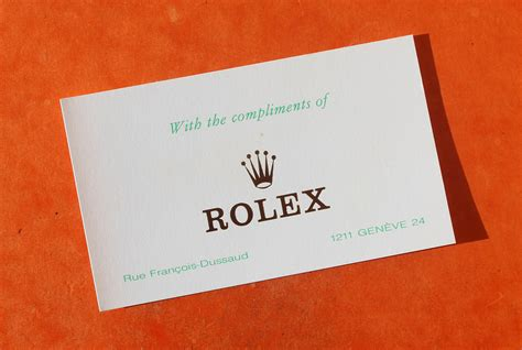 card with photos vintage 70 s compliments card rolex watches with the