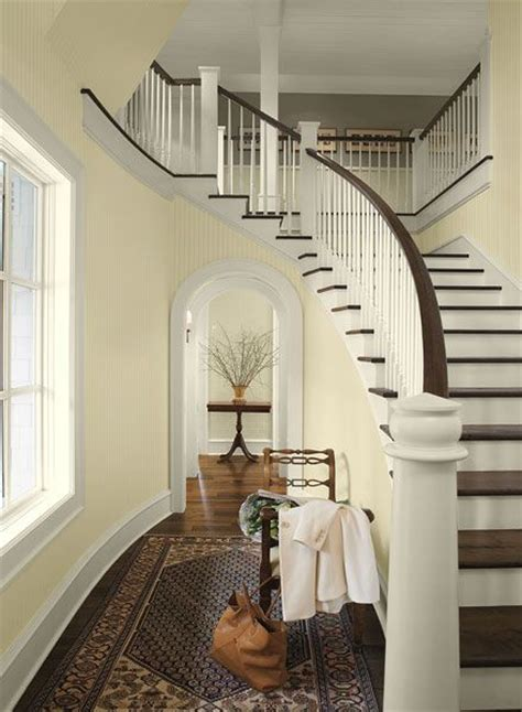 paint colors for upstairs hallway light airy formal entry paint color schemes