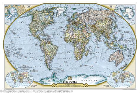 carte murale du monde sp 233 ciale 125 232 me anniversaire national geographic