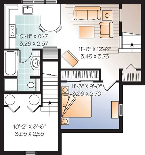 basement in suite floor plans beautiful basement suite house plan hunters