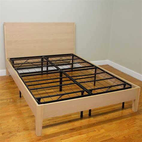 cal king platform bed frame hercules cal king size 14 in h heavy duty metal platform
