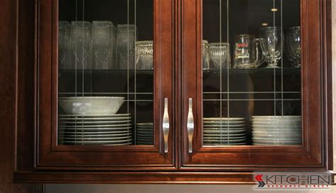 glass door cabinet kitchen installing glass in cabinet doors cabinets