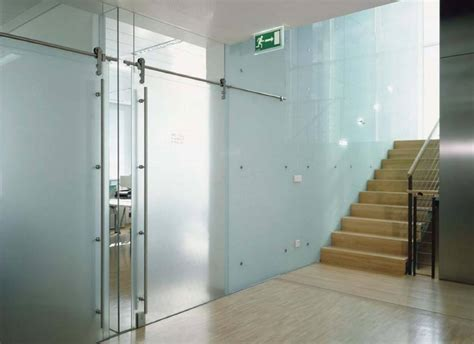 commercial interior glass door heavy glass frameless doors anchor ventana glass