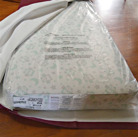 baby crib mattress cover from crib mattress to bed with no sew diy cover