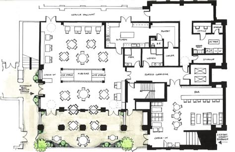 floor plan for a restaurant charming designing a restaurant kitchen layout and