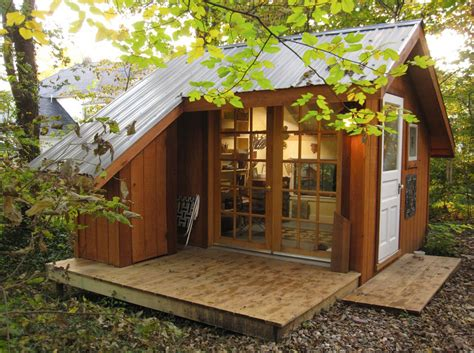 back yard house shed of reality tiny house swoon