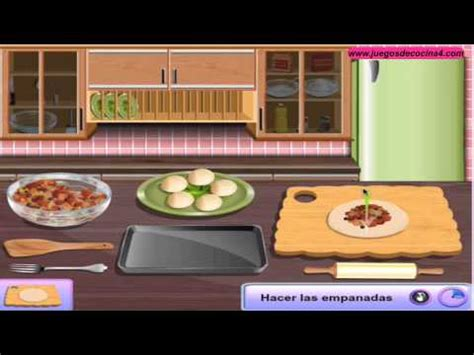 la cocina de sara juegos de cocina con sara empanadas sara youtube