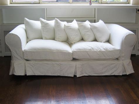 white slipcover for sofa white loveseat slipcover home furniture design
