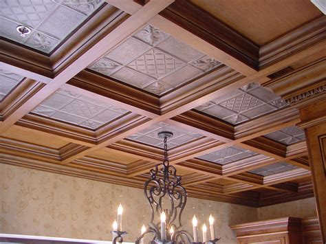 Drop Ceiling by Coffered Ceilings Wood Suspended Drop Ceiling Systems