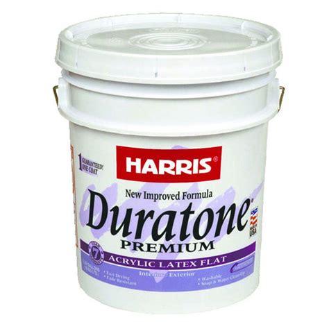 acrylic paint exterior harris duratone 5 gal flat acrylic white interior