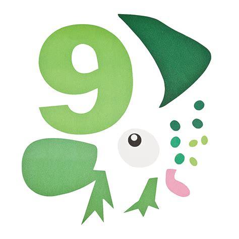 number craft for number 9 craft kit