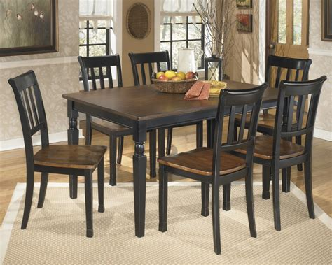 dining room table 6 chairs owingsville rectangular dining room table 6 side chairs