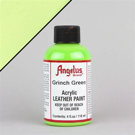angelus paint for soles angelus leather paint 1oz grinch green lab uk