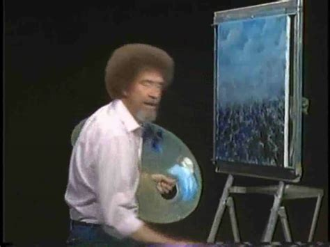 Bob Ross Of Painting Tv Series 24
