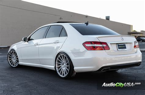 Mercedes E350 Rims by Mercedes E350 Custom Rims The Mercedes