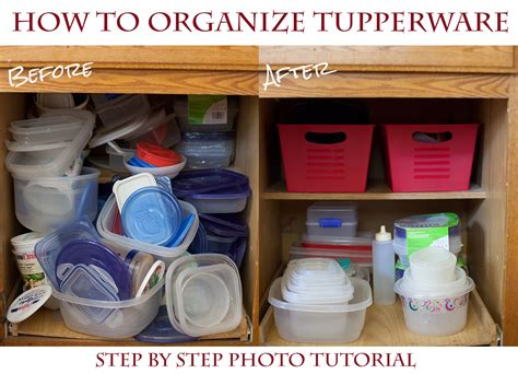 Best Quality Kitchen Cabinets For The Money how to organize your tupperware cupboard for a couple
