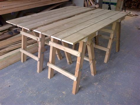 Extendable Dining Table Plans collapsible trestle tables the wooden workshop oakford