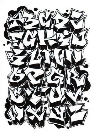 cool spray paint font el de lanza 78 letras para graffitis