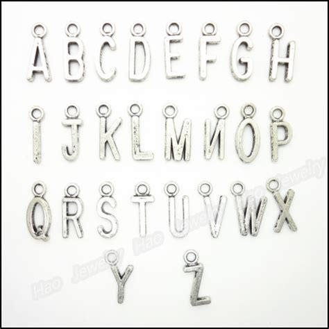 metal alphabet sts for jewelry aliexpress buy mix 520pcs charms alphabet letter