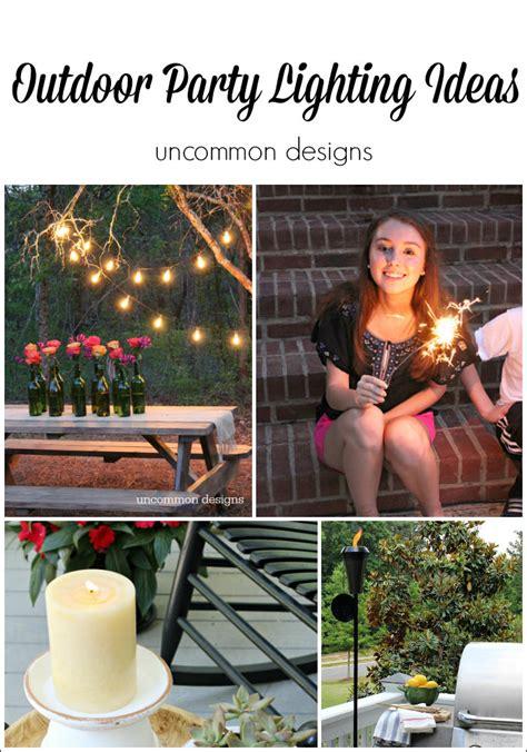 easy outdoor lights ideas easy outdoor lighting ideas