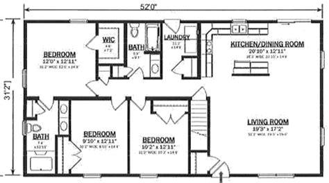 open ranch floor plans r162132 1 by hallmark homes ranch floorplan