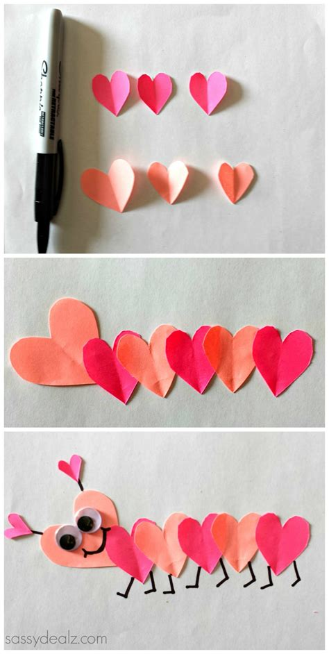 easy valentines crafts for list of easy s day crafts for crafty morning