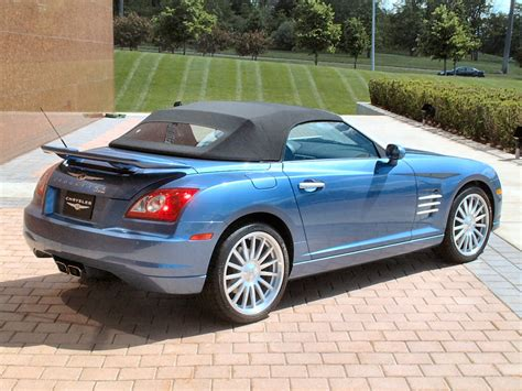 Chrysler Crossfire Srt 6 by Chrysler Crossfire Srt 6 Convertible For Sale 2005