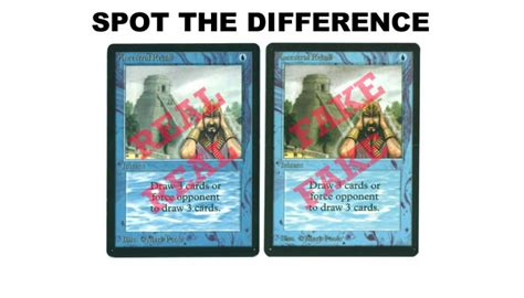 how to make a magic the gathering card how to spot counterfeit magic the gathering cards