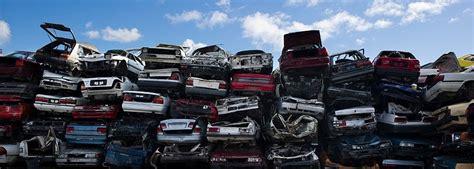 Car Dump by Wrecking Junk Cars Vehicle Disposal Or Dump Eco Friendly