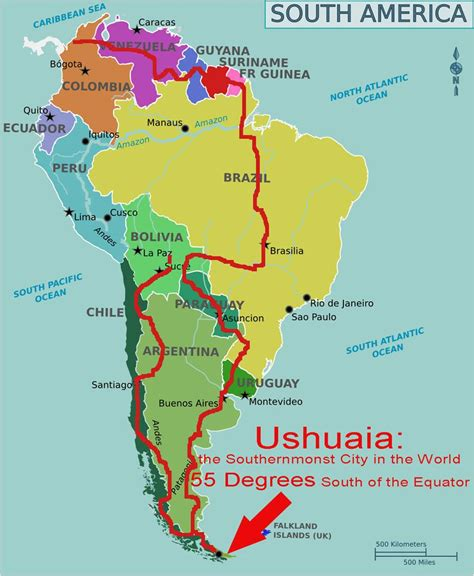 south american south america bicycle touring route worldbiking info