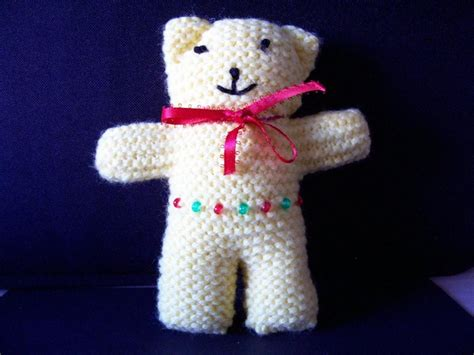 how to knit a simple teddy easy knit patterns patterns kid