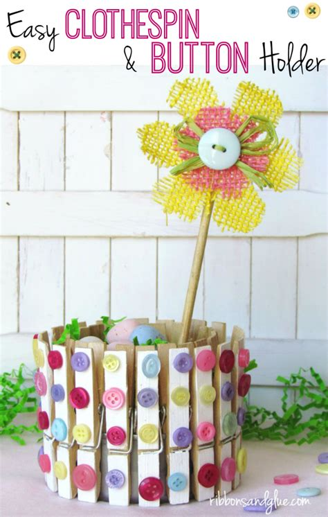 clothespin crafts for diy decorative clothespin crafts ribbons glue