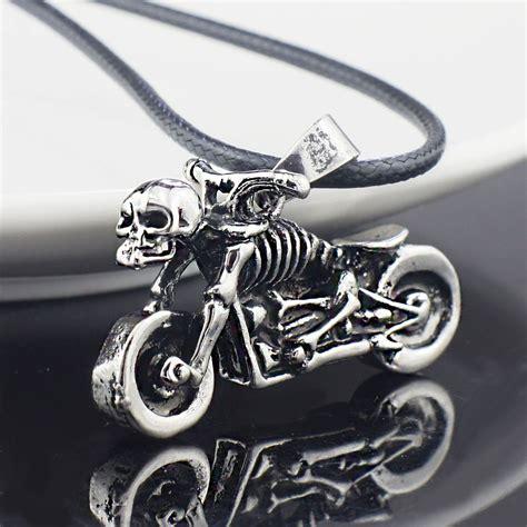 Kette Motorrad Schmuck by Online Kaufen Gro 223 Handel Motorrad Halskette Aus China