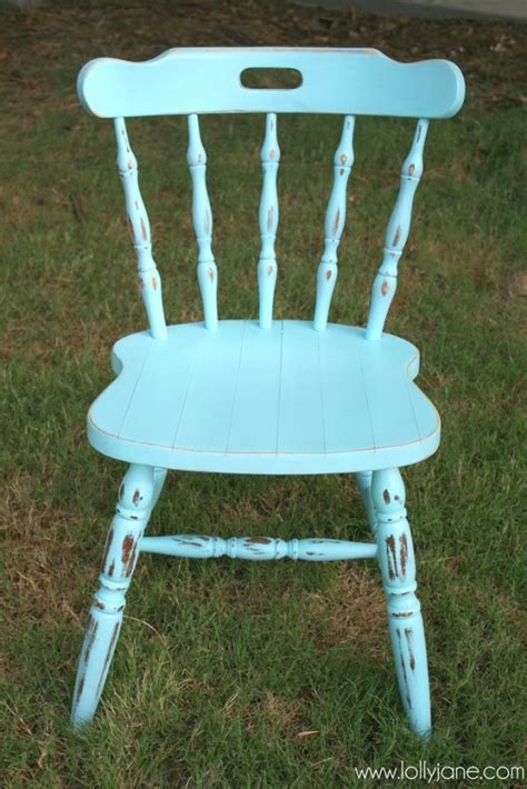 spray painting wood chairs how to distress furniture with spray paint and a sander
