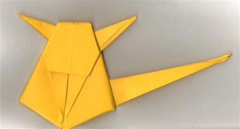 origami pickachu origami pikachu by castingshadows3 on deviantart