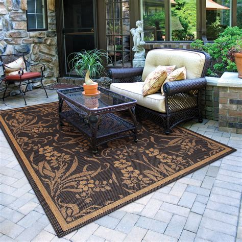 outdoor rugs for patios comfort elements for your patio the soothing