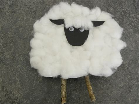 sheep craft for march craft the kid s review