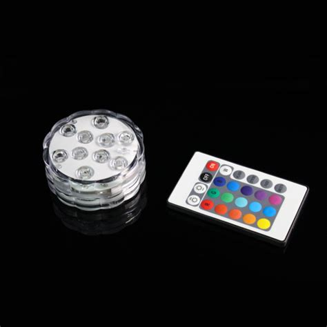 led light remote remote controlled led submersible lights gf brand