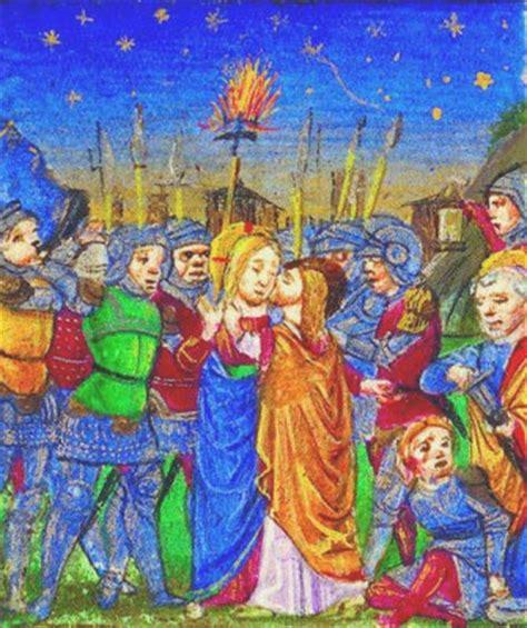 Kinderbibel Der Garten by Jesus Judas Verraten Wird Gefangen Genommen