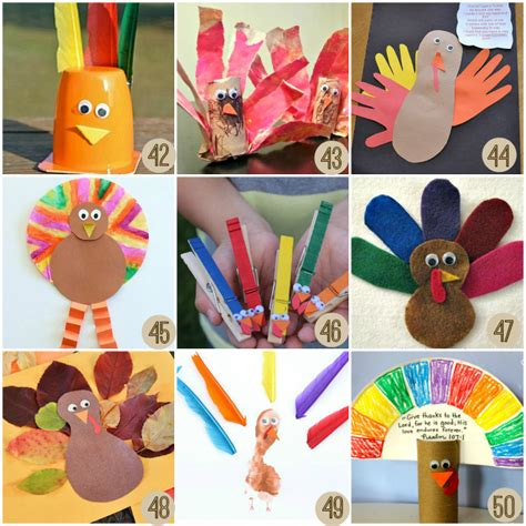 easy thanksgiving paper crafts thanksgiving crafts for crayon box chronicles