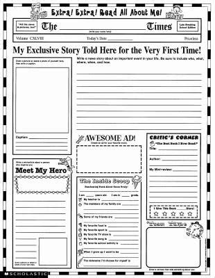instant personal poster sets read all about me 30 big write and read learning posters ready for to personalize and display with pride instant personal poster sets read all about me by