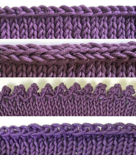 how to bind knitting how to bind knitting tutorials for 4 different bind offs