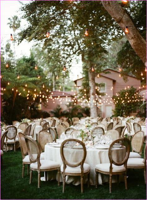 cheap backyard wedding reception ideas cheap backyard wedding ideas home design ideas