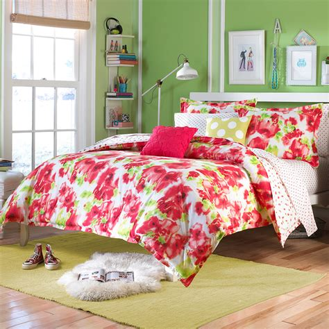 poppy comforter set vogue painted poppy bedding collection from