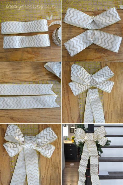 how to make a ribbon bow for a card make diy wired ribbon bows the diy