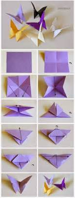 origami butterfly steps best 25 origami butterfly ideas on diy
