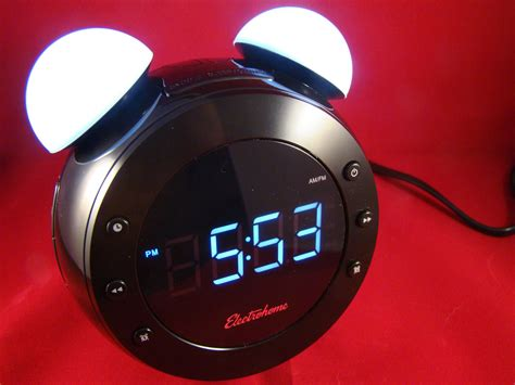futuristic clock futuristic alarm clock wears a retro 15 minute news