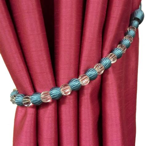 beaded curtain tie backs 17 best images about curtain tie back ideas on