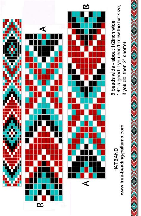 bead patterns loom beading bracelet pattern beading american