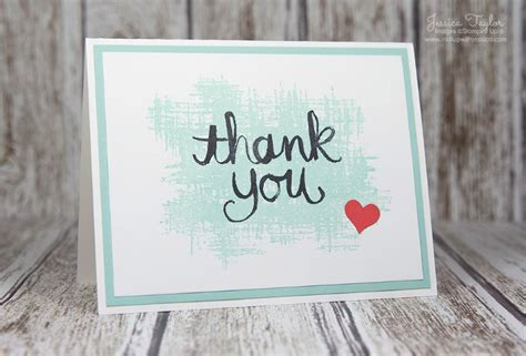 ideas for thank you cards thank you card inspired by ink it up with
